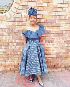 shweshwe skirts 2019 for African women – shweshwe - NALOADED African Attire, African Wear, African Dress, African Style, South African Traditional Dresses, Traditional Wedding Dresses, Traditional Outfits, African Men Fashion, African Women