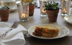 Hanukkah pumpkin chiffon cake l Gardenista