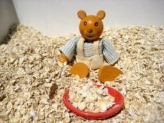 Goldilocks and the three bears sensory play tub