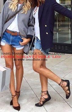 TrendBite: Isabel Marant 'Leo' ballerinas | Look for Less