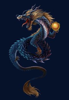 29 Best Dragons Images Dragon Illustration Chinese Dragon