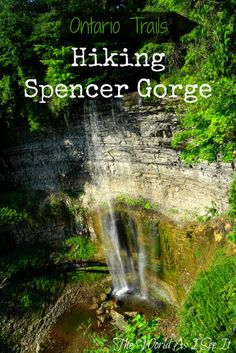 Ontario Trails: Hiking Spencer Gorge