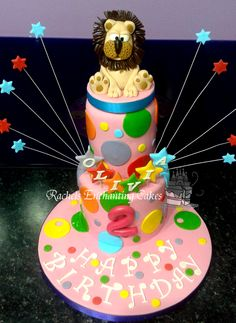 Two Tiered Pug Themed 18th Birthday Cake by Rachels Enchanting