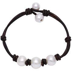 Womens Cultured Freshwater Pearl Bracelet with Leather Co... https://www.amazon.com/dp/B01ANEBEV6/ref=cm_sw_r_pi_dp_x_yMfByb2G51K89