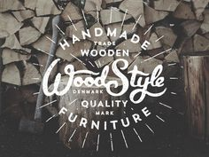 We're loving the rustic look/feel of this logo!