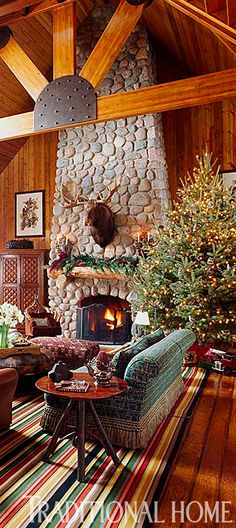 just makes me wanna curl up with a hot chocolate log cabin