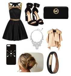 """""""Fashion runaway show ?"""" by leila-hussain ❤ liked on Polyvore featuring Chi Chi, Nicholas Kirkwood, Michael Kors, Kate Spade and Burberry"""