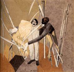 Hannah Höch, Love in the Bush, 1925. Photomontage