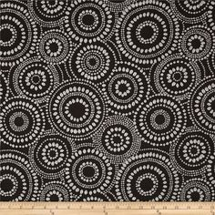 Waverly Mod Pods Jacquard Fossil from @fabricdotcom  Refresh and modernize any home decor with this medium/heavyweight jacquard fabric. This fabric is an appropriate weight for accent pillows, slipcovers and upholstering furniture, headboards and ottomans. Colors include dark grey and white. This fabric has 21,000 double rubs.