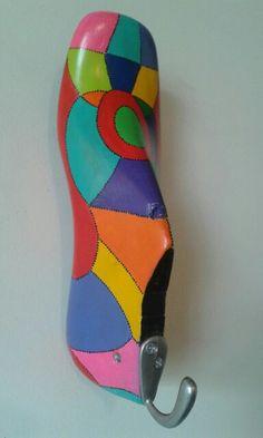 Horma pintada a mano