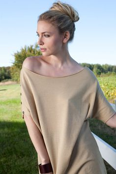 Pretty Birdie's Organic Wool Crepe Oversized by stephanieteague, $160.00