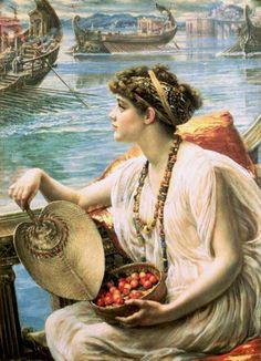 .:.  A Roman Boat Race .Sir Edward John Poynter