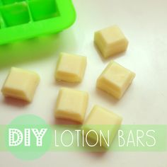 Keep your skin soft and smooth with these all-natural DIY lotion bars.