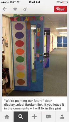 Art class door