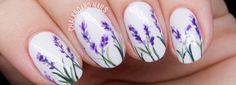 Lavander | Nature Inspired Nail Art @ The Sunshine Bride