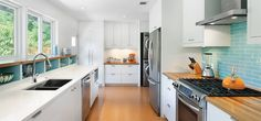 A galley kitchen that works!