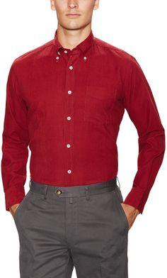 Club Fit Corduroy Sportshirt