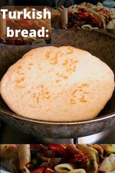 Best Bread Recipe, Bread Recipes, Cooking Recipes, Turkish Recipes, Indian Food Recipes, Vegetarian Recipes, Good Food, Yummy Food, Easy Bread