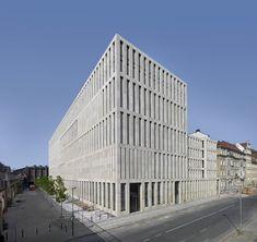 Centro Jacob and Wilhelm Grimm de Max Dudler en Berlín, Alemania