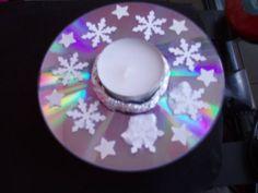 Svícen z CD