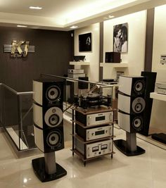 High end audio audiophile stereo