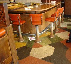 Howard Johnson's Times Square stools