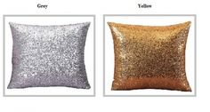 "Velvet Rose cushion covers Gold colour ex-chainstore 18/"" fantastic price"