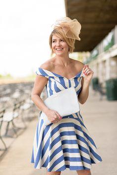 33ace5fb108c9 Derby Stripes    Kentucky Derby Dresses    Fascinators Kentucky Derby Dress
