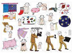 Flanosaga: Lilla Annas julklapp - en härlig julsaga att berätta! Fairy Tale Story Book, Fairy Tales, Preschool Christmas, Christmas Crafts, Kindergarten Themes, Educational Activities For Kids, Toddler Fun, Pre School, Life Skills