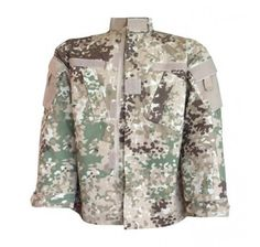 Mil-Tec Arid Fleck Military Combat Camouflage Uniform Jacket (XL)