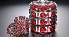 薩摩切子. Edo Kiriko Japanese Cut Glass