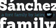 Regular + Regular Italic for FREE -- Thank you!: Sanchez - Webfont & Desktop font « MyFonts