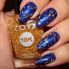 this is 18kt gold topcoat  Nail Art | Find the Latest News on Nail Art at Beautopia - Nail Art for the Masses