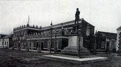 """Plaza Baralt y Edificio Las Mercedes en la avenida 6 """"Colón"""" con calle 97 """"Bolívar"""" en el Centro Histórico para el siglo XIX"""