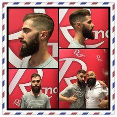 Victor yo con su barba perfecta, cuidada con Macho Beard Company y las manos de su barbero.