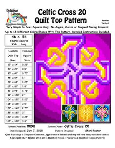 rainbow-moon-treasures.com QuiltTopDesigns Done Quilt(0098).html