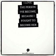 I fought so hard for so long.....