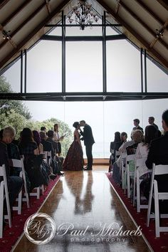 First kiss at the pines ceremony. New Zealand #wedding #photography. PaulMichaels of Wellington www.paulmichaels.co.nz
