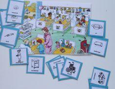 Zoek de afbeeldingen van de kaartjes op de plaatjes. Je kunt ook met zoekopdrachten werken Preschool, Gallery Wall, Letters, Discovery, Stage, Aphasia, Therapy, Winter, Kid Garden