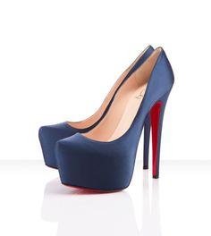 Zapatos de Fiesta 2012 al más puro estilo Victoria Beckham. Modelo de Christian Louboutin.