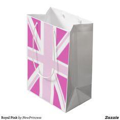Royal Pink Medium Gift Bag