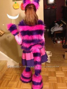 Cool Cheshire Cat Costume for a Hip Girl ... This website is the Pinterest of costumes