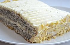 no carb dessert recipes Quick Easy Desserts, Easy Cake Recipes, Easy Meals, Dessert Recipes, Kreative Desserts, Poppy Seed Cake, Biscuit Cake, Cheesecake, Food And Drink