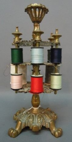 Vintage spool holder