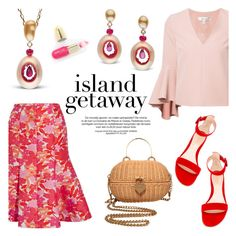 """""""Chic Island Getaway"""" by littlehjewelry ❤ liked on Polyvore featuring Michael Kors, Milly, Chanel and Winky Lux"""