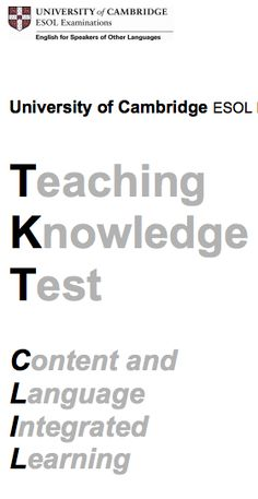 glossary for clil English language teacher training since 1984, offering celta, delta, eal, refresher courses, clil, tkt and icelt.
