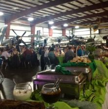 New England Air Museum Wedding. Caterer Western Massachusetts, Northern Connecticut - Wedding Gallery