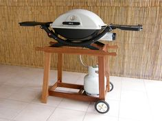 Design and build a custom timber trolley for your barbecue.   Handyman Magazine  