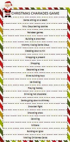 Kids of all ages love charades! Check out this Christmas themed charades game from Moms & Munchkins for your next holiday game night. (Or would be great for a classroom holiday party too! Xmas Games, Holiday Games, Holiday Fun, Holiday Ideas, Holiday Trivia, Noel Christmas, Family Christmas, Winter Christmas, Christmas Ideas