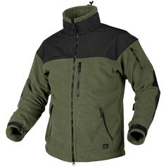 Helikon Classic Army Fleece with Membrane Olive/Black Thumbnail 1